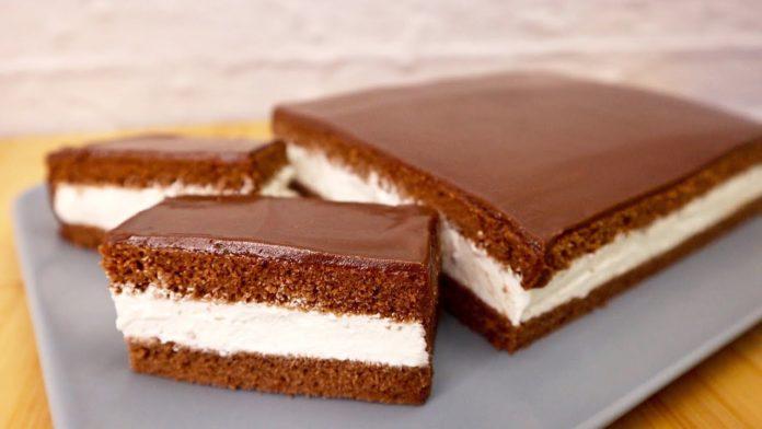 За смаком торт виходить, як бісквітне тістечко Кіндер Пінгві