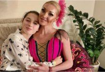 Анастасія Заворотнюк з донькою