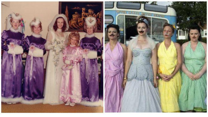 Найбезглуздіші та смішні сукні подружок нареченої