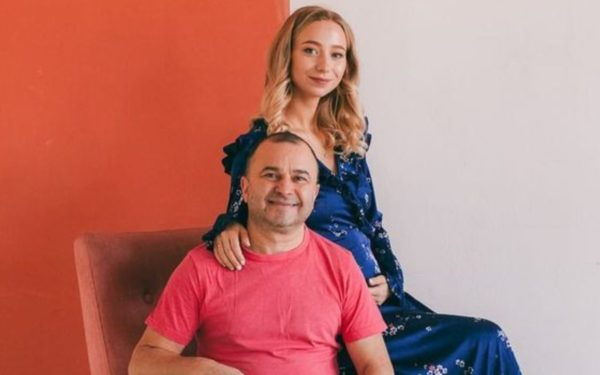 Екатерина Репяхова на 5 месяце беременности
