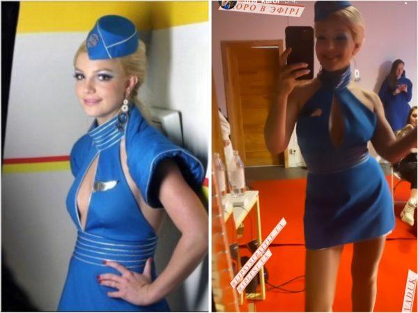 Тина Кароль и Бритни Спирс - сравнение