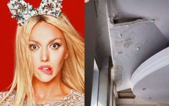 Оля Полякова решилась поменять крышу во всем доме