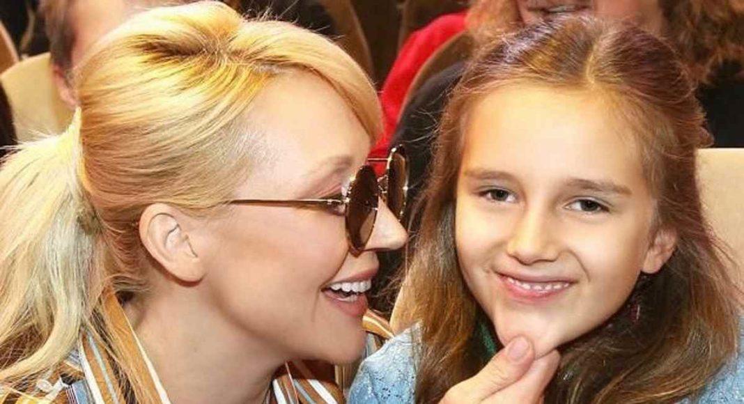 Кристина Орбакайте с дочкой Клавой