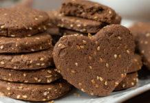 Шоколадне печиво без розпушувача