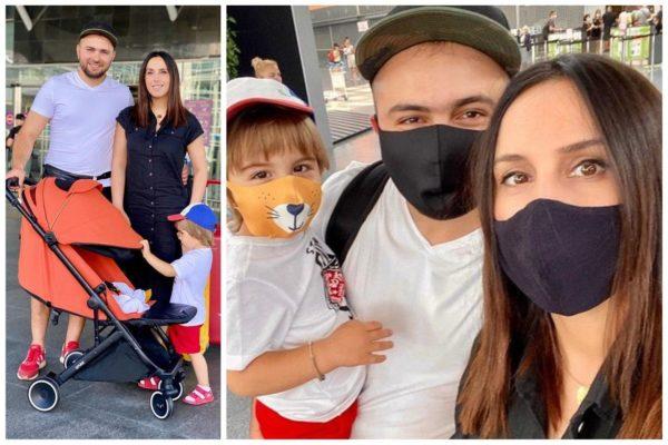 Джамала з чоловіком і дітьми