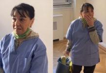 Жители многоэтажки сделали уборщице неожиданный подарок