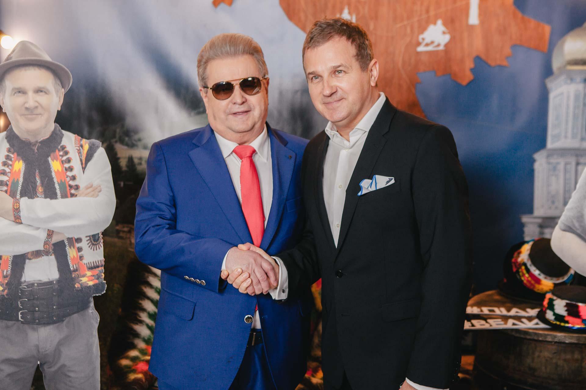 Михаил Поплавский дружит со звездами