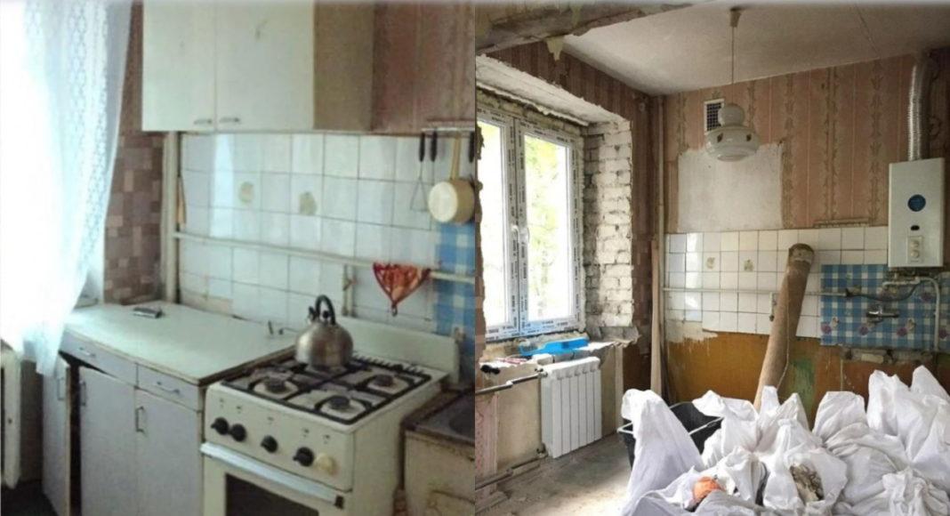 Как стильно обустроить маленькую кухню?