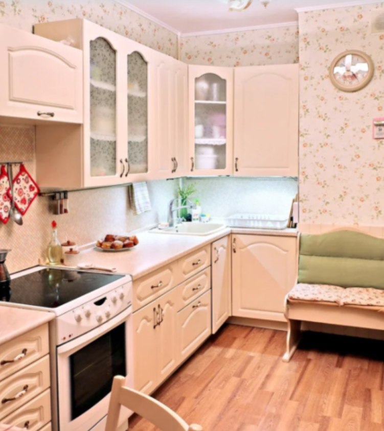 Кухня получилась очень красивой и современной