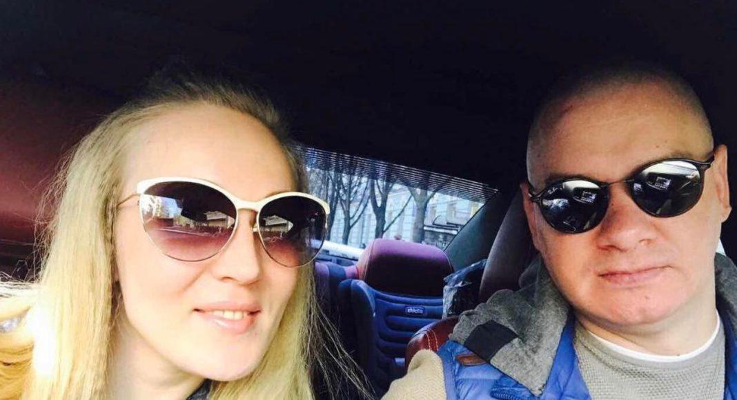 Ксения Кошевая и ее муж Евгений Кошевой
