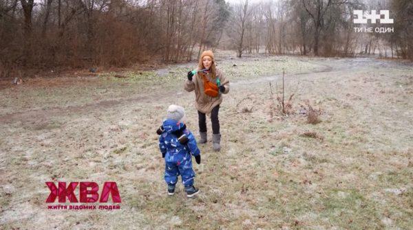Алена Шоптенко и ее сын в ЖВЛ