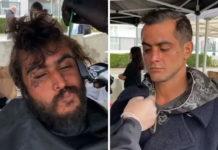 Перукар безкоштовно стриже бездомних