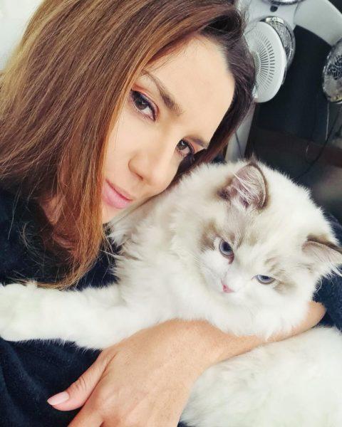 Оксана Марченко з Кокосіком