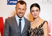 Валентина Хамайко зі своїм цивільним чоловіком Андрієм Оністратом