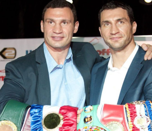 Братья Кличко Виталий и Владимир