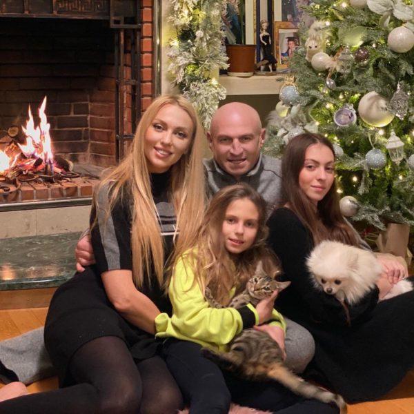Муж и дети Оли Поляковой