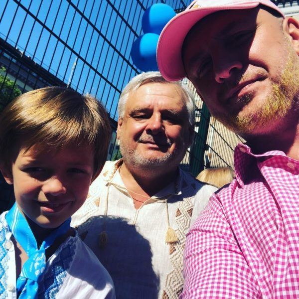 Потап с отцом и сыном