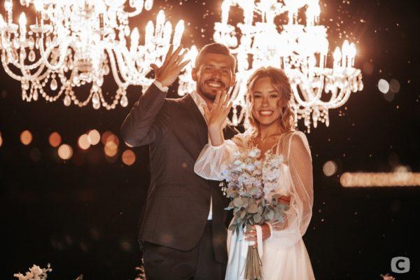 Весілля Микити Добриніна і Даші Квіткова