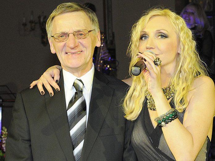 Кристина Орбакайте и Миколас Орбакас
