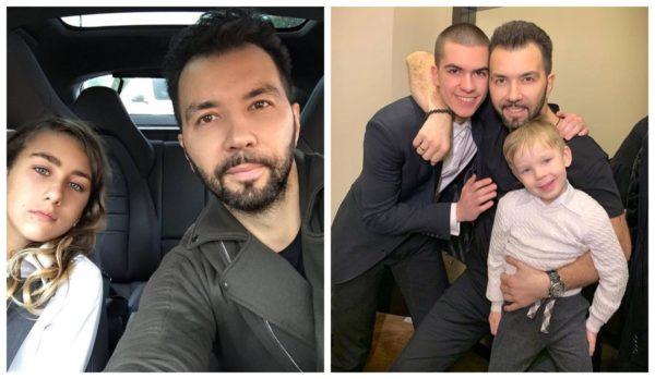 Сын и внуки Ильи Олейникова