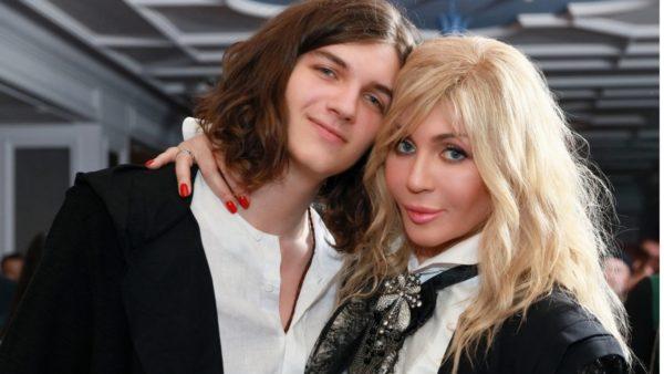 Ірина Білик із сином Глібом