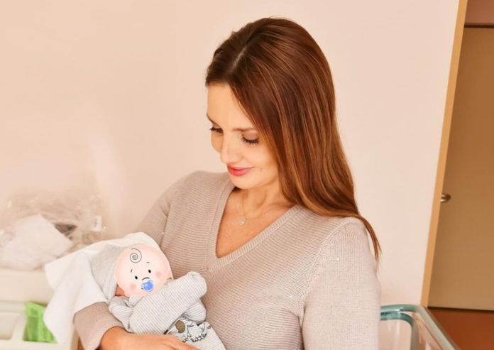 Оксана Марченко стала бабушкой