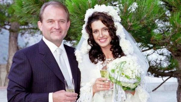 Весілля Віктора Медведчука і Оксани Марченко