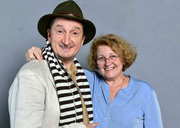 Олександр Ликов з дружиною Аллою