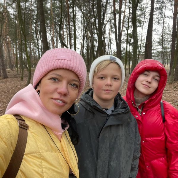 Ірина Горова з дітьми освоює внутрішній туризм