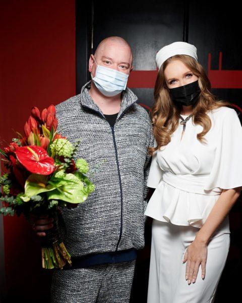 Катя Осадчая и Евгений Кошевой