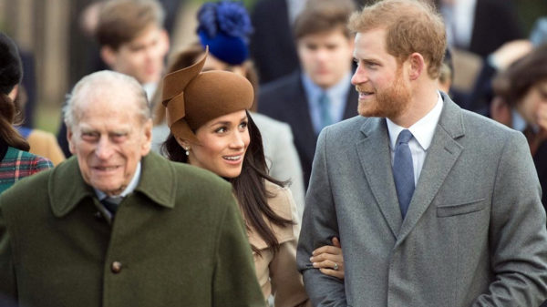 Принц Филипп, Меган Маркл и принц Гарри