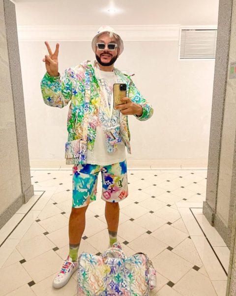 Філіп Кіркоров в костюмі від Louis Vuitton