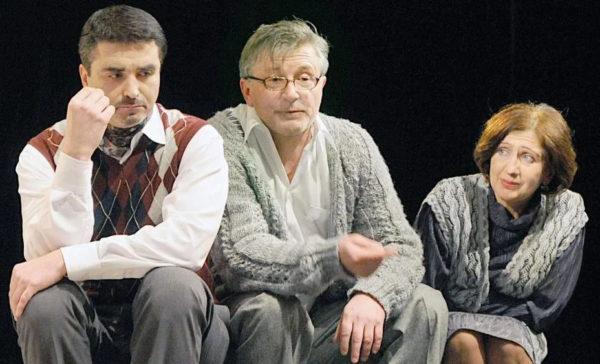 Станіслав Боклан та Наталія Кленіна на сцені Молодого театру
