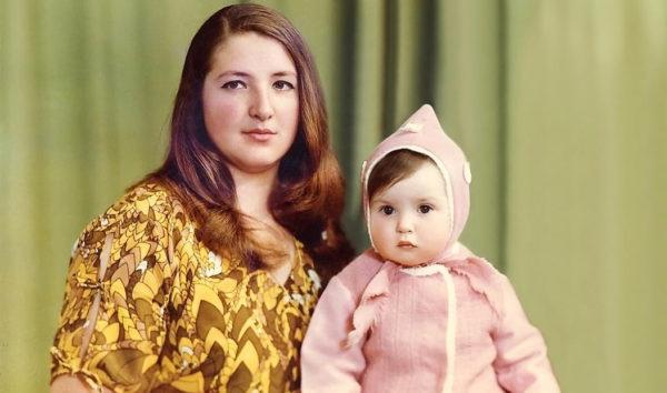 Оксана Марченко зі своєю мамою