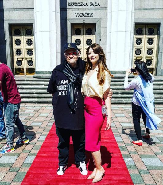 Сергій Сивохо зі своєю дружиною Тетяною