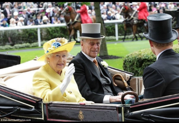 Королева Єлизавети II принц Філіп