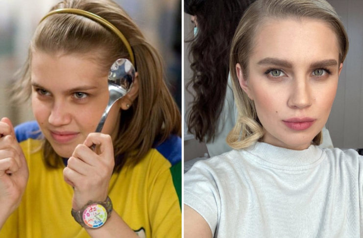 Дарья Мельникова тогда и сейчас