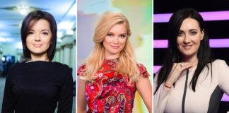 Телеведучі з каналу 1+1 — Марічка Падалко, Лідія Таран і Соломія Вітвіцька