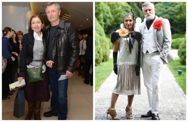 Стас Боклан зі своєю дружиною Наталею Кленіної