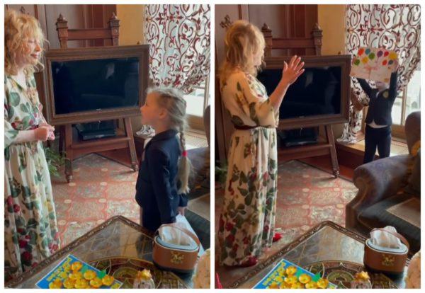 День народження Алли Пугачової, привітання Лізи