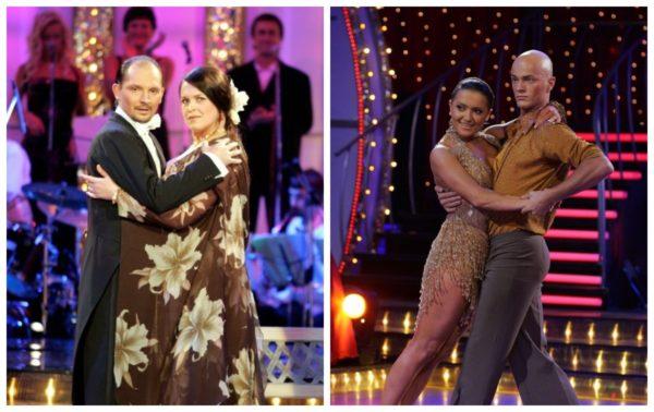 Руслана Писанка и Николай Коваленко, а также Наталья Могилевская и Влад Яма в первом сезоне шоу Танцы со звездами