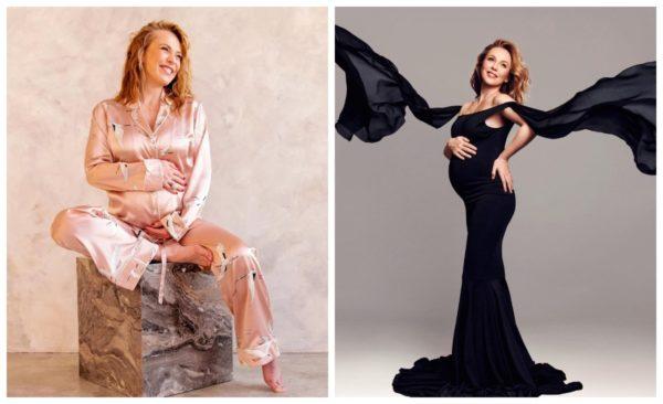 Беременная Альбина Джанабаева