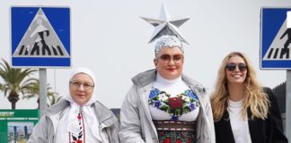 Віра Брежнєва і Вєрка Сердючка