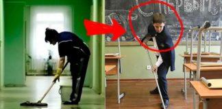 Прибирання в класі