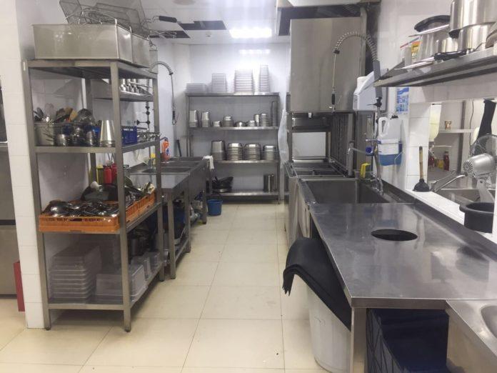 Кухня в ресторані