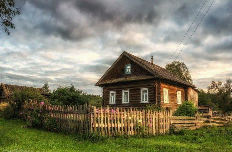 Дом старушки