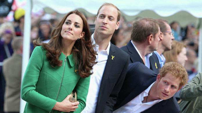 Кейт, Вільям і Гаррі