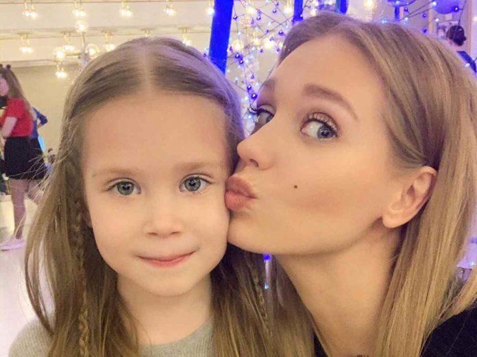 Христина з донькою