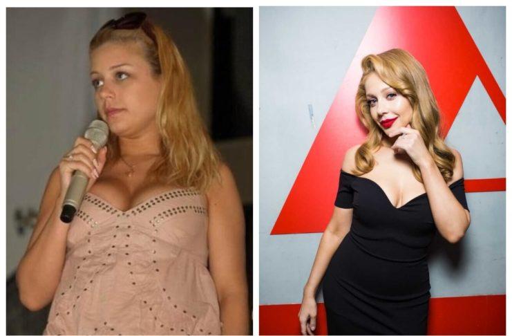 Тина Кароль до и после похудения