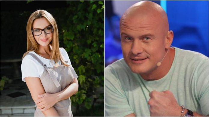 Оксана Марченко стала хрещеною матір'ю В'ячеслава Узєлкова
